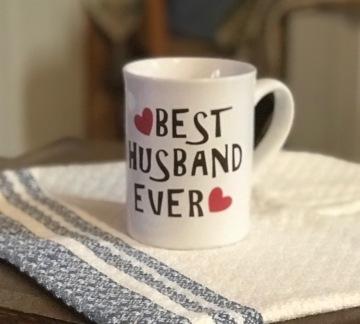 Cricut Valentine mug