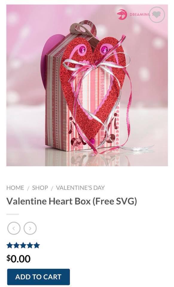 free valentine box