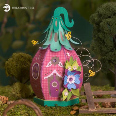 HoneyBee Fairy House